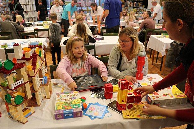 Festival her a hraček pro malé i velké