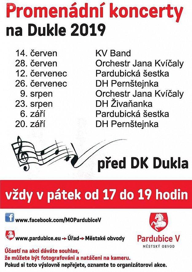 Tradiční promenádní koncert - DH Pernštejnka