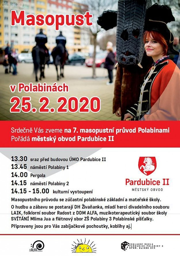 Masopust v Polabinách