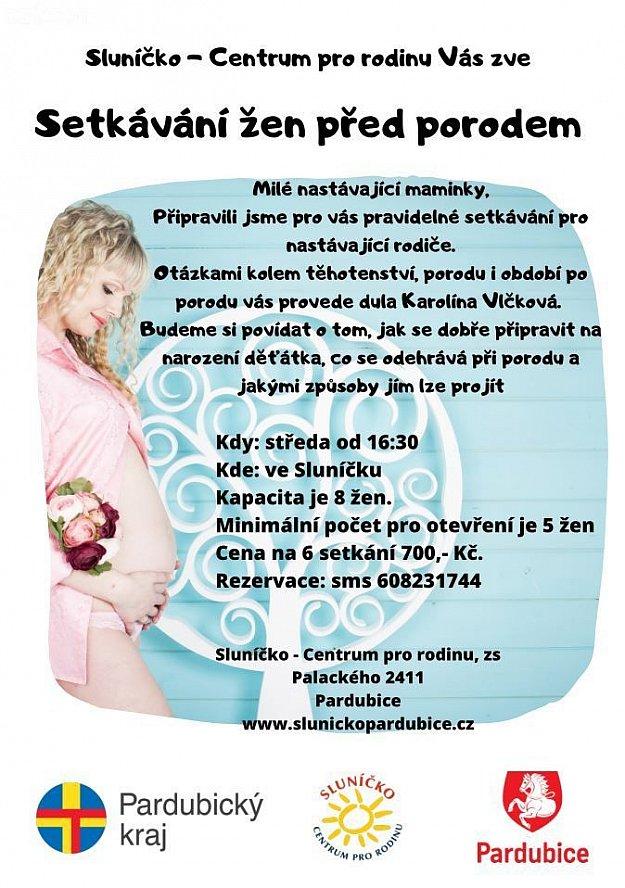Setkávání žen před porodem