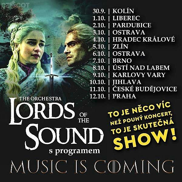 Lords of the sound v programu music is coming