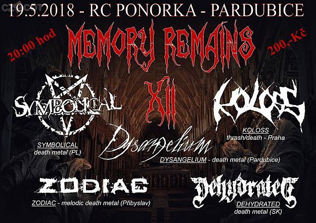 Memory Remains XII