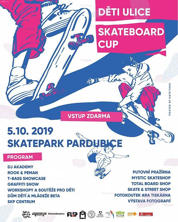 Skate Board Cup - Děti ulice