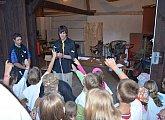Kouzelnické představení pro děti Telepat a Telemat
