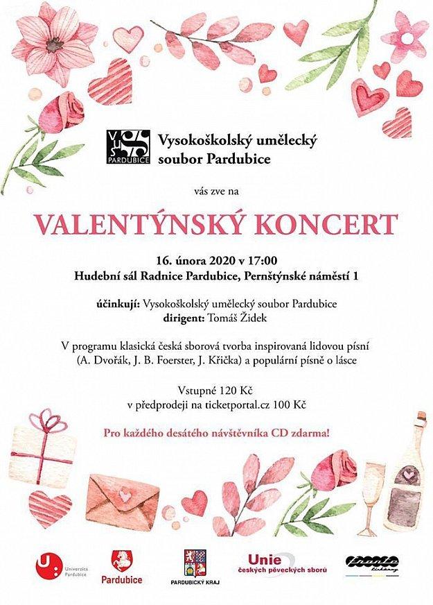 Valentýnský koncert VUS