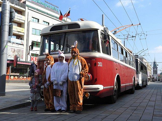 Velikonoční trolejbus