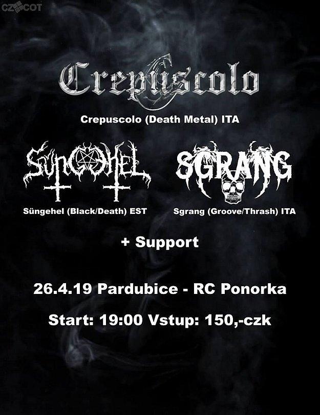 Crepuscolo, Süngehel, Sgrang + support