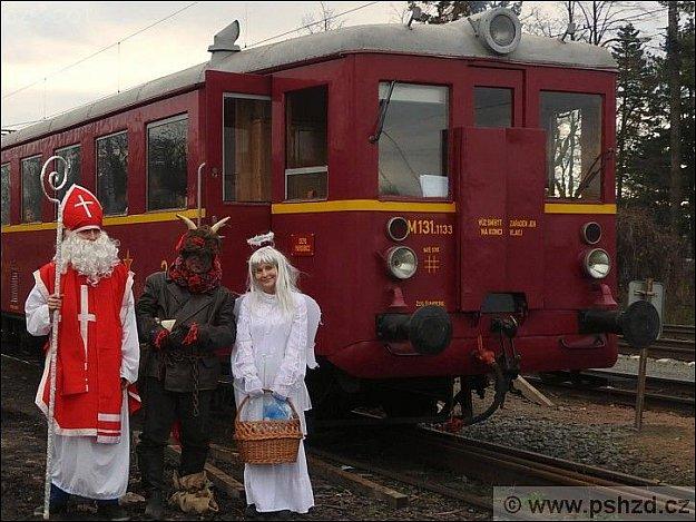 Mikulášský vlak 2020