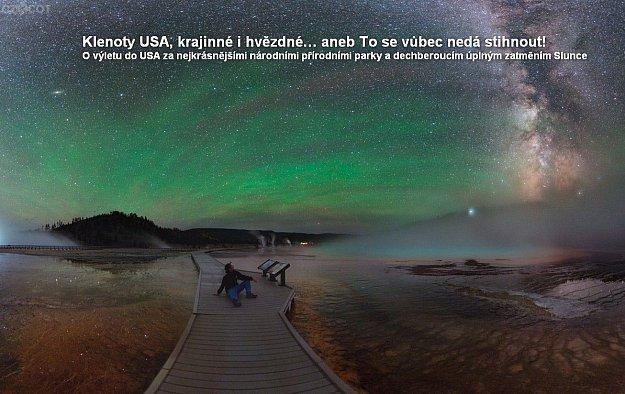 Přednáška: Klenoty USA krajinné i hvězdné