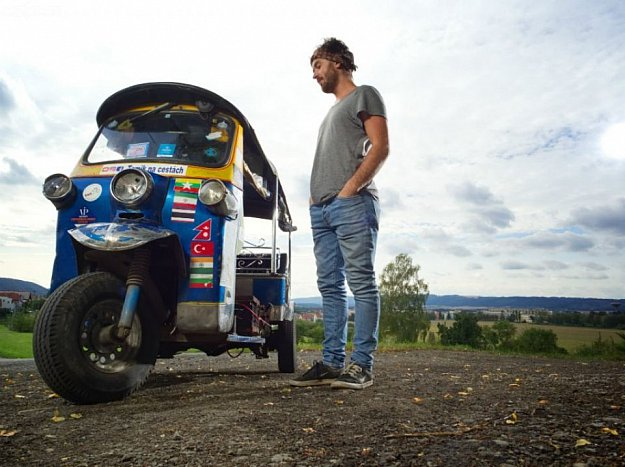 Tomík na cestách - Tuktukem z Thajska až na Moravu