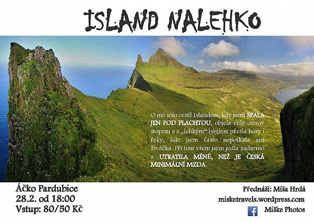 Island nalehko v Pardubicích