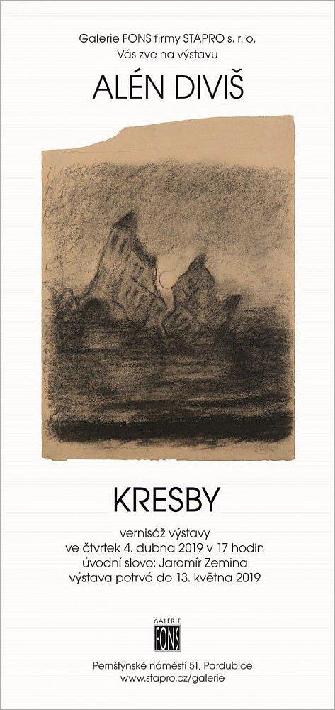 Alén Diviš - Kresby