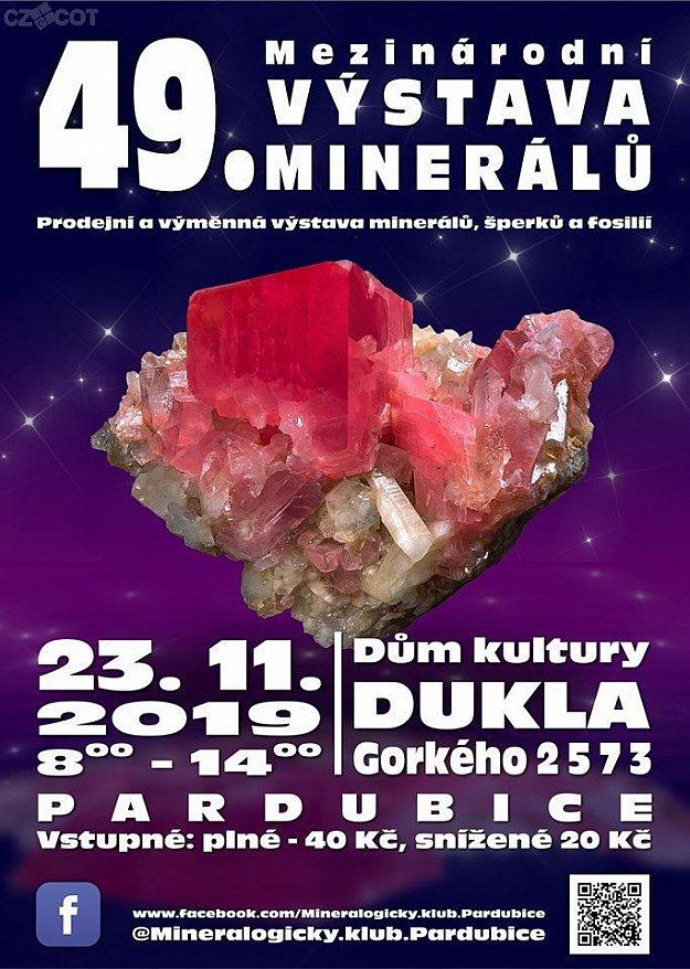49. Mezinárodní výstava minerálů