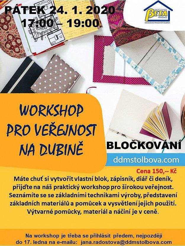 Workshop - bločkování