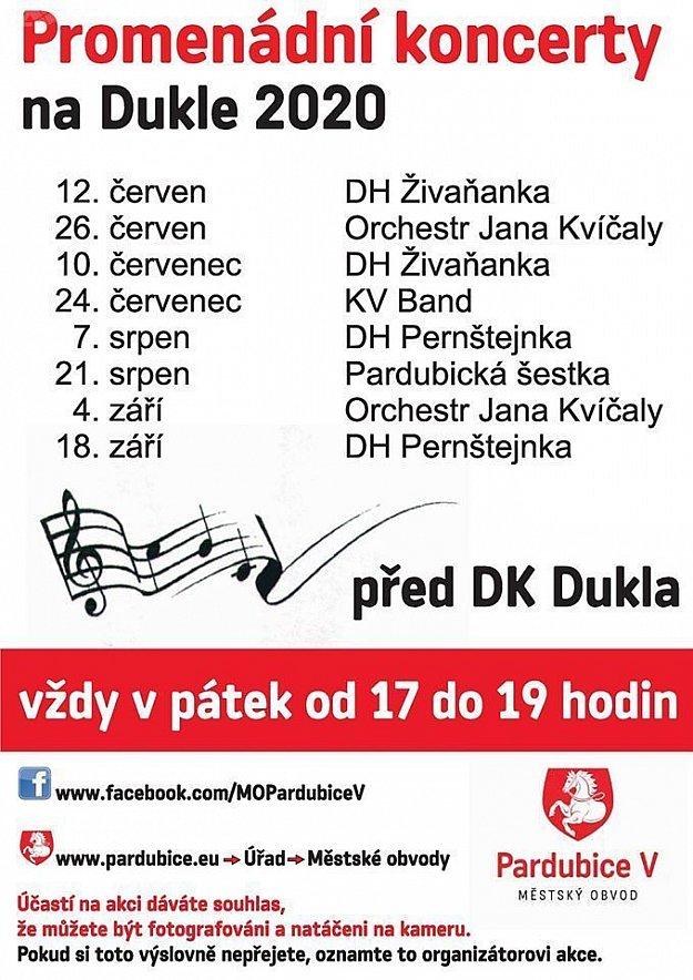Promenádní koncerty Dukla 2020 - DH Pernštejnka