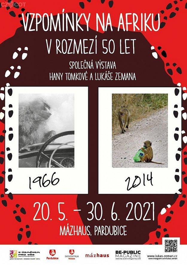 Vzpomínky na Afriku v rozmezí 50 let - Společná výstava Hany Tomkové a Lukáše Zemana