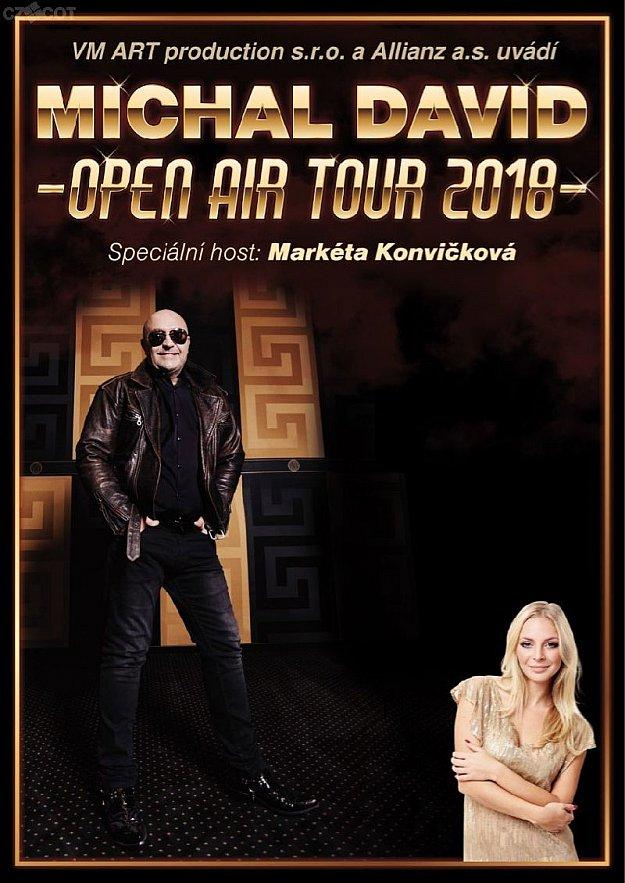 Michal David - Open air tour 2018
