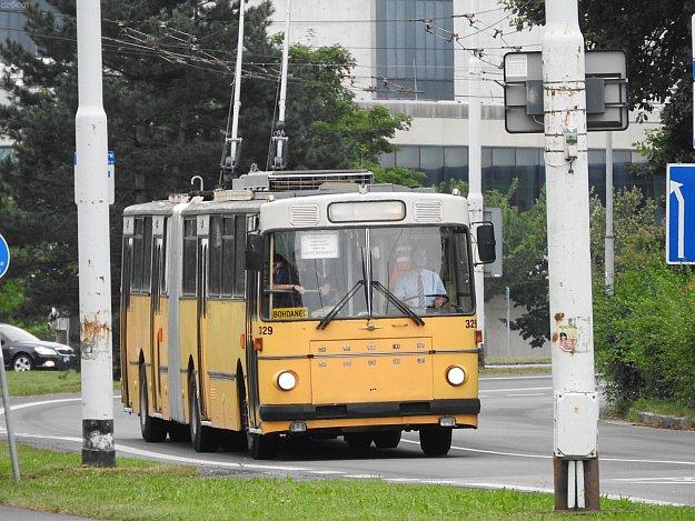Trolejbusem na zmrzlinu