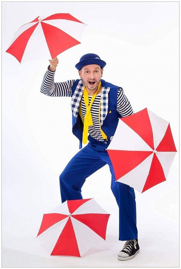 Kouzelnické vystoupení - kouzelník Hopsík