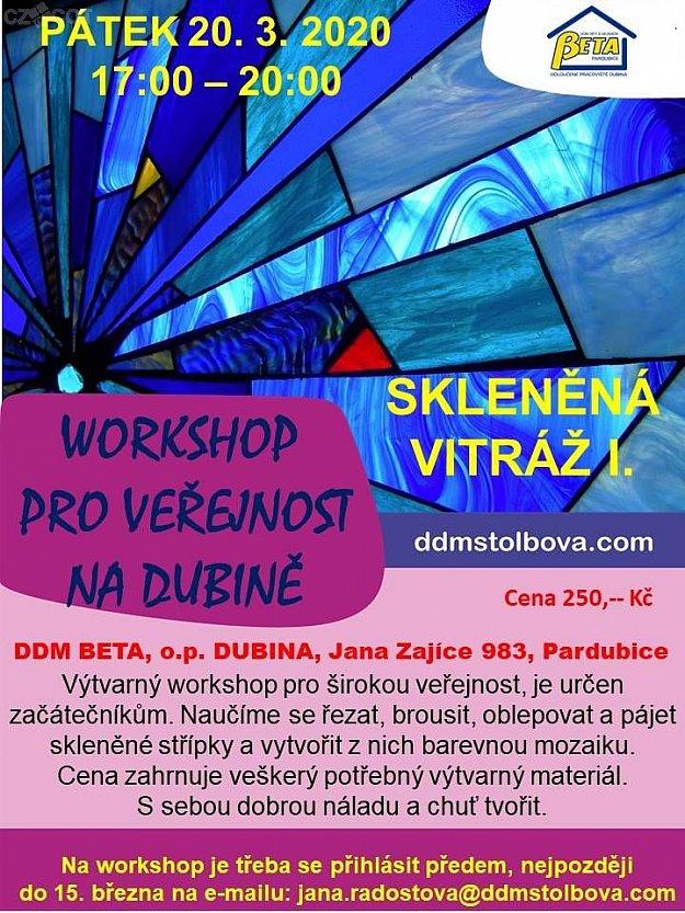 Workshop - skleněná vitráž