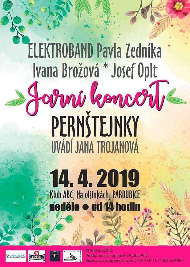 Jarní koncert Pernštejnky