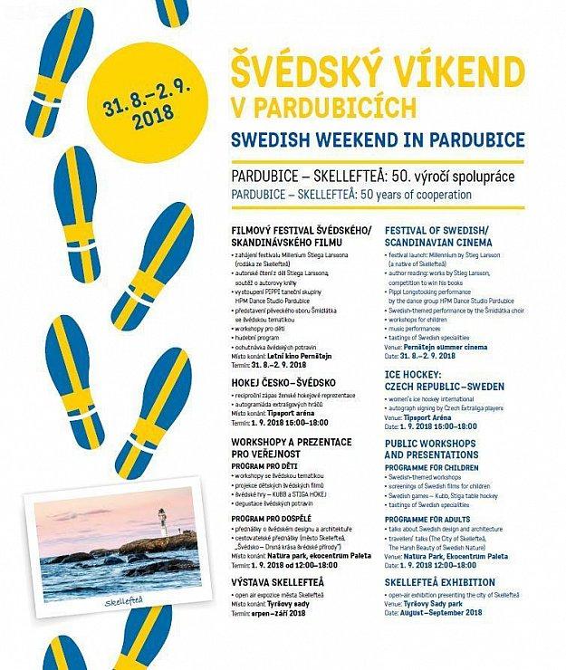 Švédský víkend v Pardubicích - workshopy a prezentace pro veřejnost