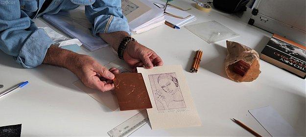 Výtvarný workshop - suchá jehla s Ivanem Baborákem