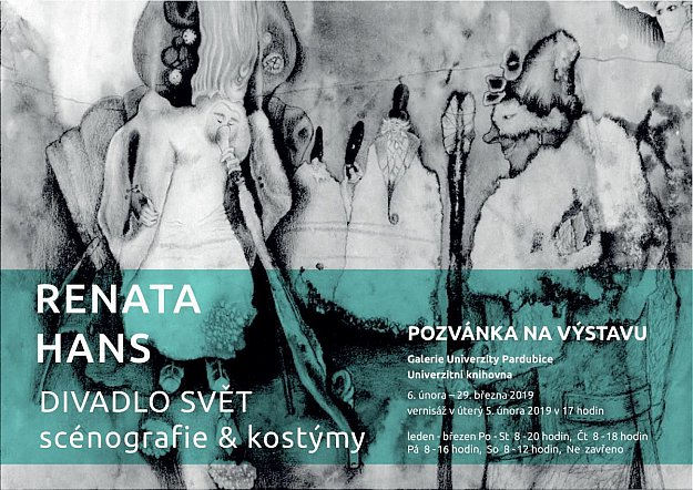 Výstava Renata Hans - Divadlo Svět - Scénografie & kostýmy
