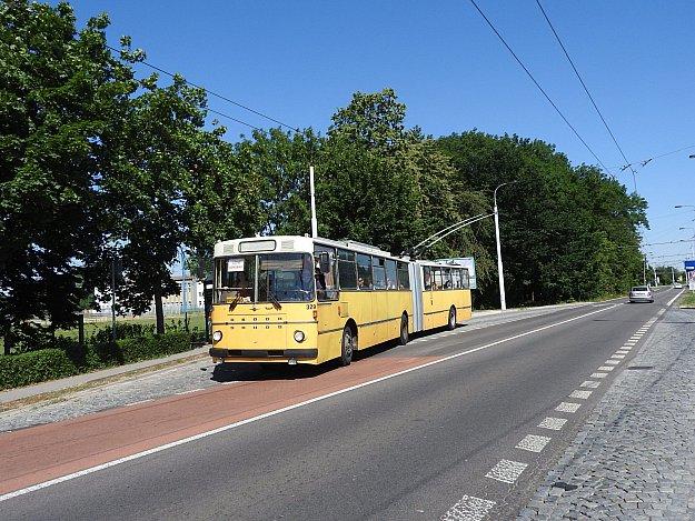 Prázdniny s historickým trolejbusem