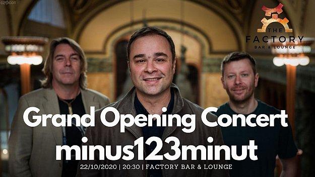Minus123minut (křest nového alba Les)