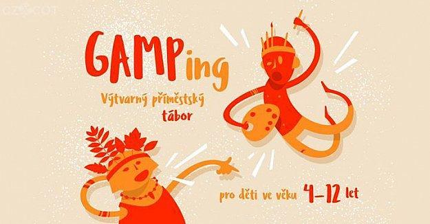 GAMPing prázdninové  galerijní kempování pro děti