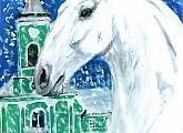 Zimní království starokladrubských koní