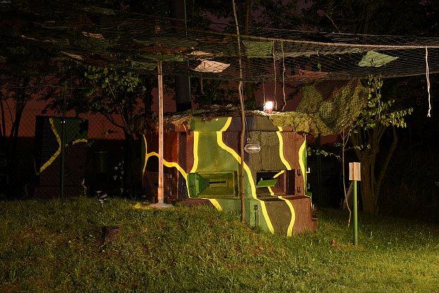 Světla nad bunkry - noční otevření pozorovatelny
