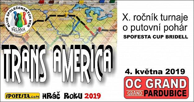 Turnaj ve hře Trans America 2019