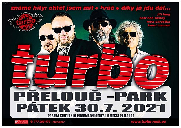 Turbo - koncert k 40. výročí kapely