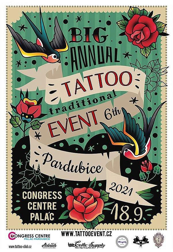 Festival tetování Tattoo Event 2021 Pardubice