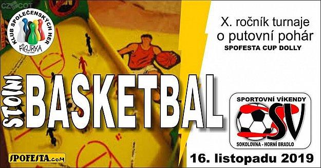 Turnaj ve hře Stolní Basketbal