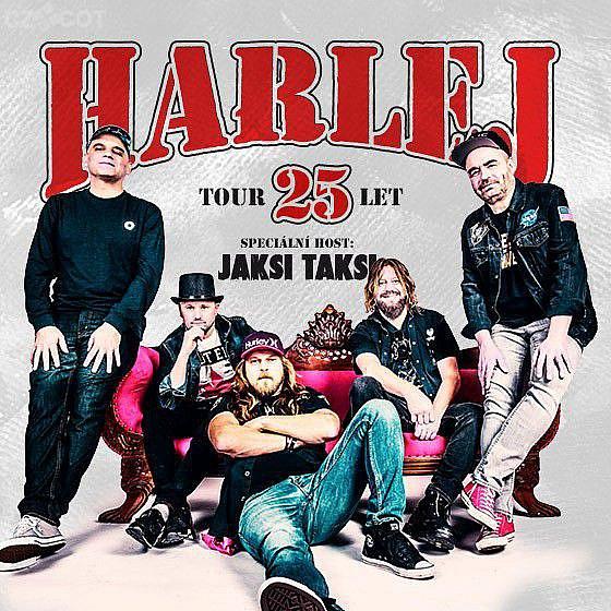 Harlej 25 let tour, host: Jaksi Taksi