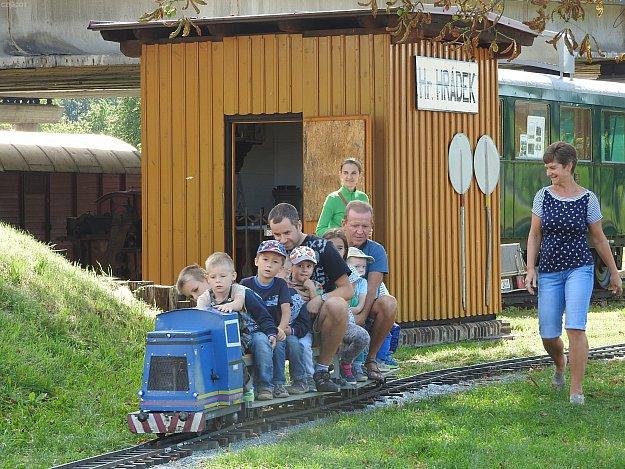 Setkání zahradních železnic 2018