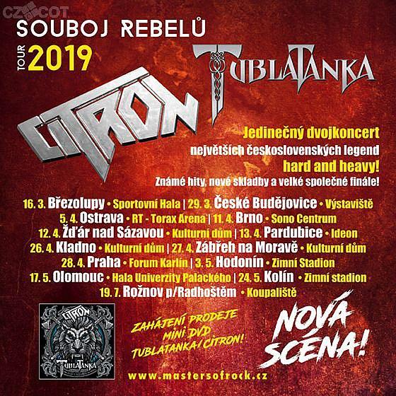 Tublatanka, Citron - Souboj rebelů Tour 2019