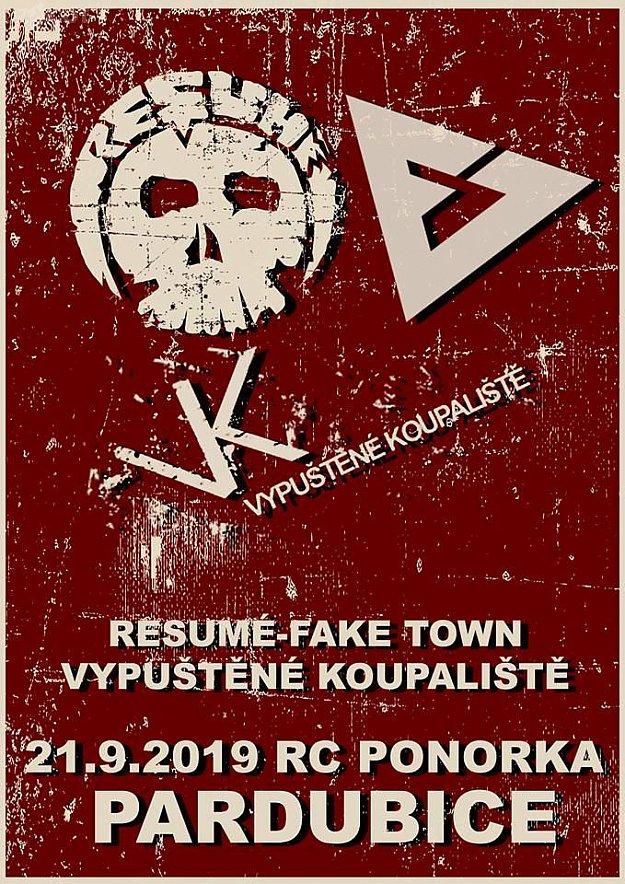 Resume, Fake Town, Vypuštěné koupaliště