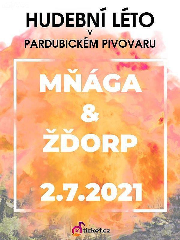 Mňága a Žďorp - Hudební léto v pardubickém pivovaru 2021