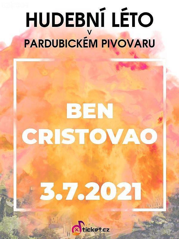Ben Cristovao - Hudební léto v pardubickém pivovaru 2021