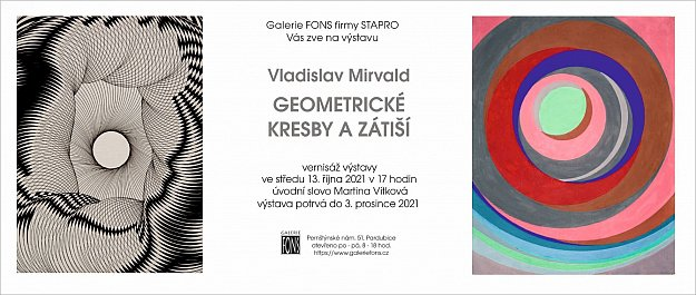 Vernisáž výstavy Vladislav Mirvald - Geometrické kresby a zátiší