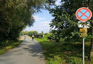 Stoupání-klesání nájezd u Cihelny