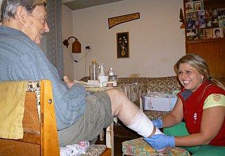 Domácí zdravotní a hospicová péče