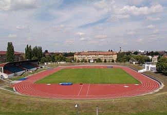 Městský ateltický stadion na Dukle v Pardubicích 1