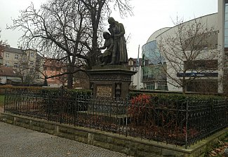 Pomník bratranců Veverkových