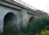 At Five Canals - railway viaduct