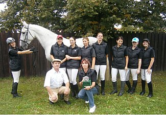 Equestrian Club of the Secondary School of Horse Breeding and Horse rriding in Kladruby nad Labem